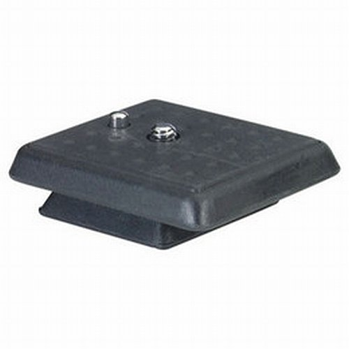 Giottos 6E01 Spare Quick Release Plate for VT806, VT808, VT809, and MV825 Monopod