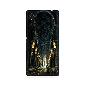Mobicture Pattern Premium Designer Mobile Back Case Cover For Sony Xperia M4