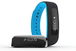 iFIT Vue Fitness Tracker, Black/Blue