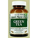 Gaia Herbs Green Tea, Liquid-Filled Capsules 60 Capsules Image