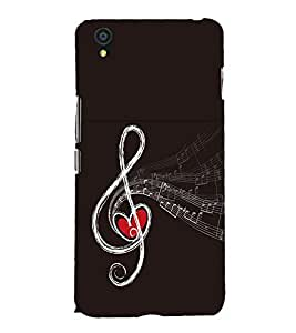 Music Back Case Cover for One Plus X::One + X