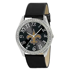 Brand New NEW ORLEANS SAINTS GLITZ BLK by Things for You