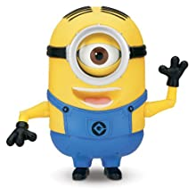 [Best price] Grown-Up Toys - Despicable Me 2 Minion Stuart Laughing Action Figure - toys-games