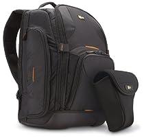 Case Logic SLRB100  DSLR Backpack + Day Holster Bundle (Black)