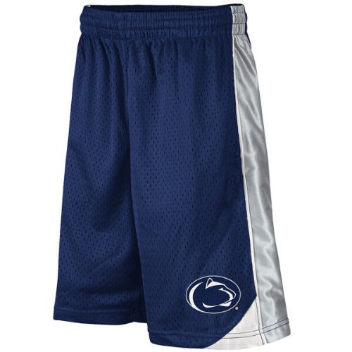 NCAA Penn State Nittany Lions Youth Navy Blue Vector Workout Shorts (Large)