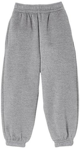 Trutex Limited - Pantaloni sportivi, Bambini e ragazzi, grigio (Marl Grey), 7-8 anni