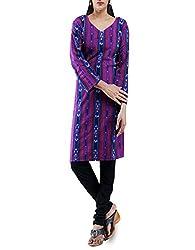 Unnati Silks Women Pracheen kala Pochampally cotton Multicolor kurta