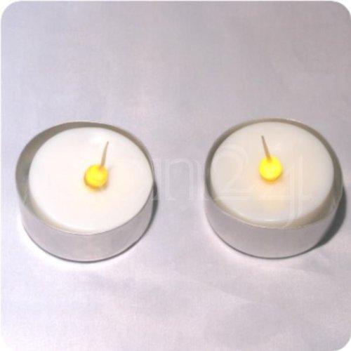 LED Teelicht mit flackerndem Licht - 2er-Set