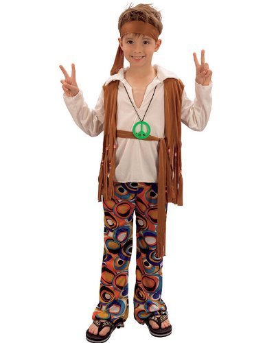 Boys Hippy Boy Costume
