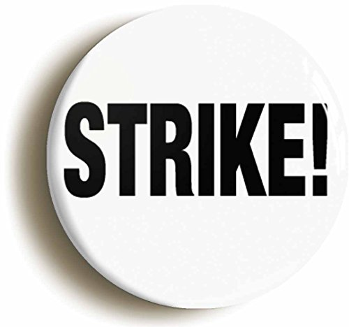 [Strike Button Pin (Size Is 1inch Diameter) Ten Pin Bowling] (Lebowski Costume Ideas)