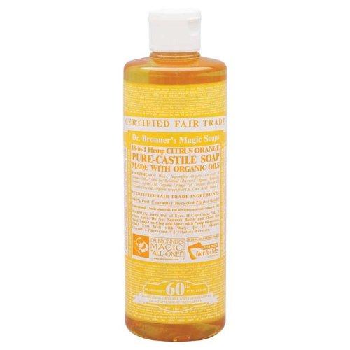 Dr. Bronner'S Organic Castile Liquid Soap Citrus Orange 16 Oz front-536876