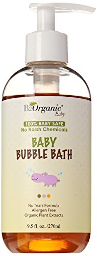 B2Organic Baby Bubble Bath, 9.5 Fluid Ounce - 1