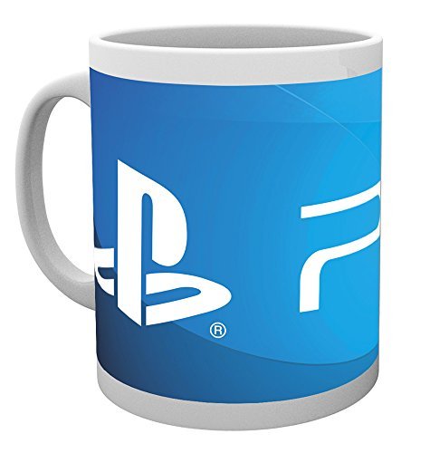 GB eye LTD, Playstation, PS4 Logo, Tazza
