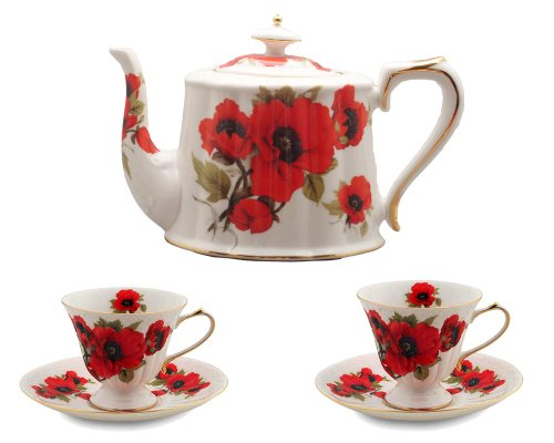 Gracie China Red Poppy
