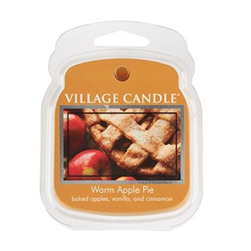 Village Candle Galet fondant de cire Parfumée pour brûle-Parfum Senteur tarte aux pommes
