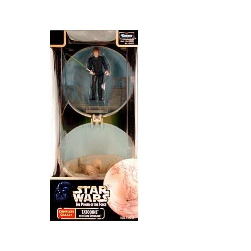 Star Wars - Power of the Force - Tatooine - Complete Galazy Series - With Luke Skywalker - Collectible
