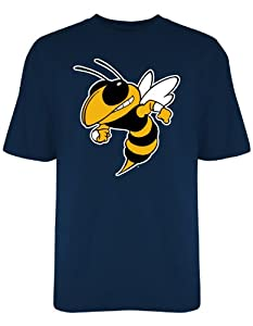 Buy Georgia Tech Yellow Jackets Old Varsity Brand Navy Blue Big Screen T-Shirt by Old Varsity Brand