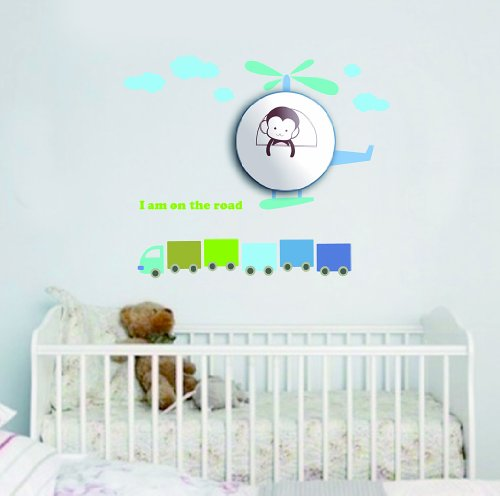 Dream Wall Decal, Monkey Chopper