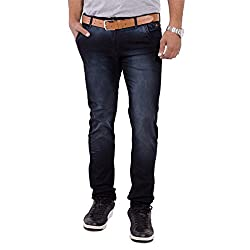URBAN FAITH Designer Black Men's Jeans
