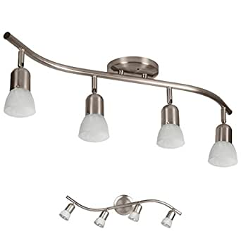 4 Light Track Lighting Wall Or Ceiling Mount