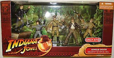 Picture of Hasbro Indiana Jones Kingdom of the Crystal Skull Action Figures Battle Pack - Jungle Chase (B001B5PJK4) (Hasbro Action Figures)