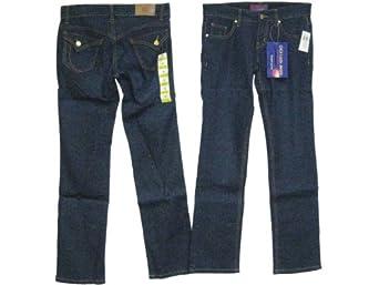 Ladies Size 1, Low Rise, 5 Pockets, Jeans. Straight Leg Cut. * 2 Units of Indigo Color, Each $18.99*