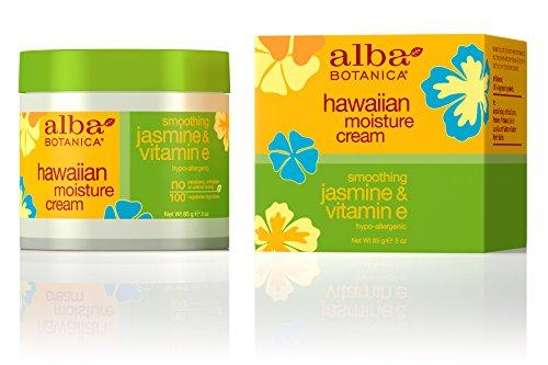 Alba Botanica Hawaiian, Jasmine & Vitamin E Moisture Cream, 3 Ounce