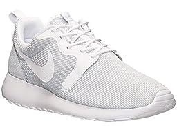 nike roshe one KJCRD mens running trainers 777429 sneakers shoes (uk 10 us 11 eu 45, pure platinum white white 011)