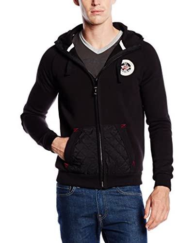 Geographical Norway Giacca Felpa Glovin [Nero]