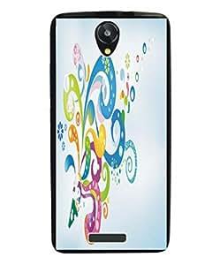 Techno Gadgets Back Cover for Intex Aqua Q5