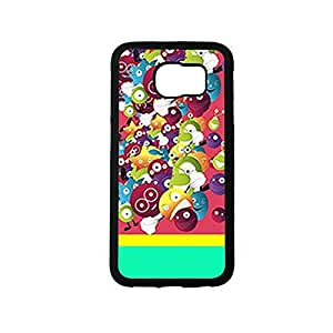 Vibhar printed case back cover for Samsung Galaxy S6 Edge FunnyMonsters