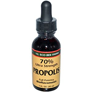 Propolis Tincture - 70% Ultra Super Strength YS Eco Bee Farms 1.0 oz. Liquid