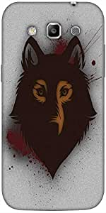 Snoogg Bold Wolf Designer Protective Back Case Cover For Samsung Galaxy Grand...