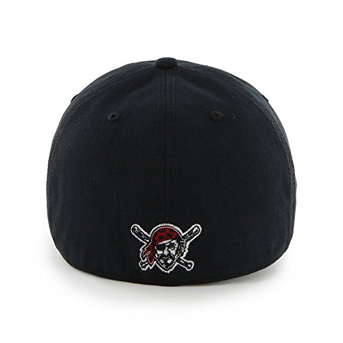 47-Brand-Pittsburgh-Pirates-Franchise-Fitted-MLB-Cap-Schwarz