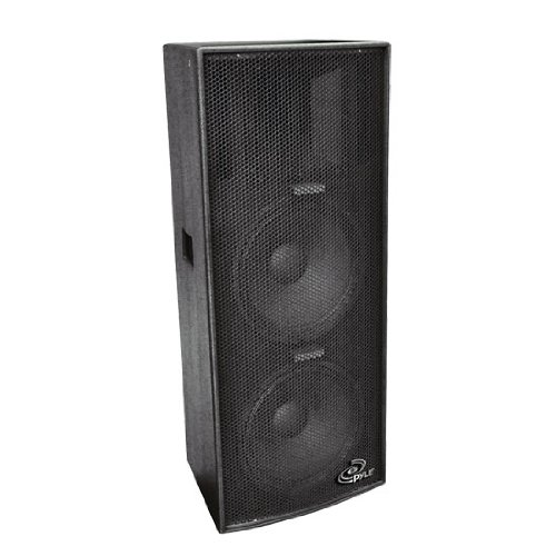 Pylepro Ppad102 Dual 10-Inch Heavy Duty 3-Way Speaker Cabinet