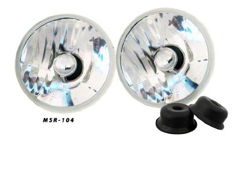 5 3/4 Inch Round Crystal Clear Premium Headlights Upgrade 4000 4040 5506 H5006