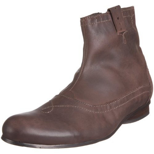 Fly London Men's Flea Brown Zip Up Boot P141718000 10 UK