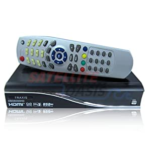 Traxis Dbs6000hd Mpeg-4 Free to Air Satellite Receiver for Hdtv