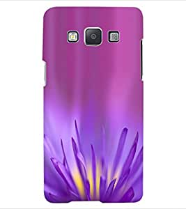 ColourCraft Lovely Flower Design Back Case Cover for SAMSUNG GALAXY E5