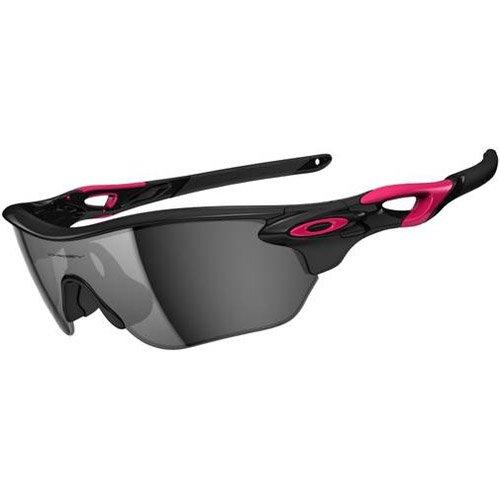 Oakley Radarlock OO9209-02 Iridium Sport Sunglasses,Polished Black,One size (Radarlock Edge compare prices)