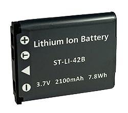 Replacement Battery Olympus LI-40B/42B for Stylus 1040 1050w 1060 1070 1200 7000 7010 7020 7030 7040