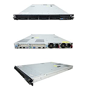 HP ProLiant DL360 G7 2x 2.40Ghz E5620 Quad Core 72GB 4x 600GB 10K SAS Rails (Certified Refurbished)