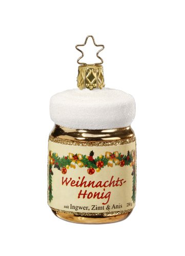 Inge-Glas Weihnacht Honey Christmas Ornament
