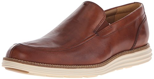 Cole Haan Men's Original Grand Venetian Slip-On Loafer, Woodbury/Ivory, 10.5 M US (Cole Haan Men Shoes Loafers compare prices)
