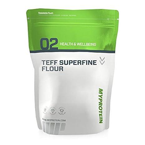 My Protein Teff Superfine Flour 1000g - Bio Teffmehl extrafein Proteinquelle, Kohlenhydrate und Elektrolyte