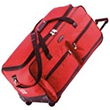 Jeep Extra Large Wheeled Luggage Bag (34 Inch, Red)