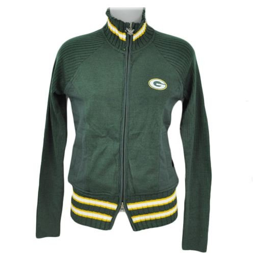 Touch by Alyssa Milano Green Bay Packers Women's Sweater Mix Jacket XX Large at Amazon.com