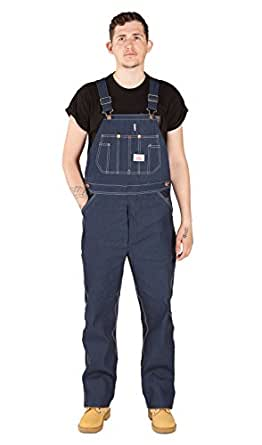 Roundhouse men 39 s bib denim overalls overalls and coveralls workwear apparel clothing - Roundhouse bib overalls ...