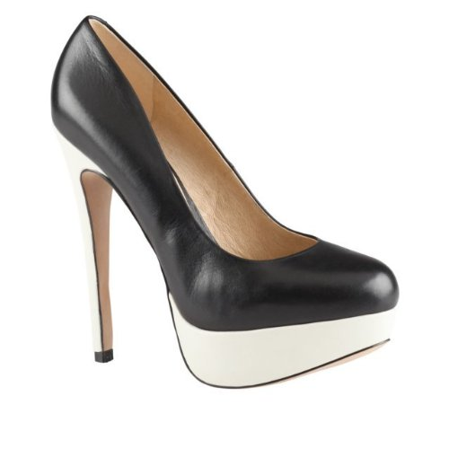 ALDO Haronik - Women High Heel Shoes - Black / White - 8½