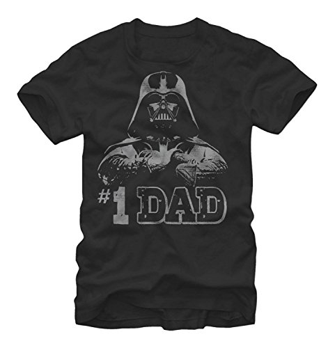 Star Wars - Numero Uno Dad Father's Day T-Shirt (Large)